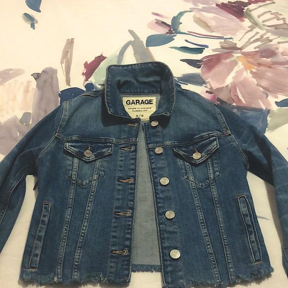 Garage Jackets & Blazers - Garage cropped denim jacket